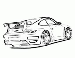 porsche 911 turbo coloring free download