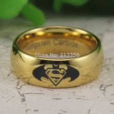 superman wedding rings batman wedding ring promotion shop for promotional batman wedding