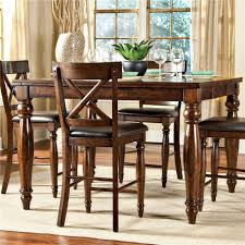 dining room table with butterfly leaf intercon kingston counter height gathering table with butterfly