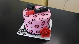 red lipstick cheetah print birthday cake available in you u2026 flickr