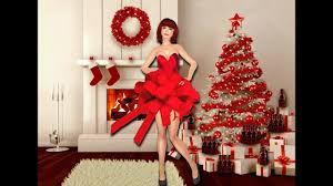 christmas tree decorating ideas red and silver youtube
