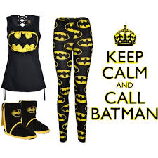 batman pajamas polyvore