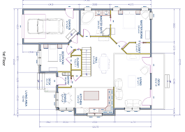 floor plans with dimensions u2013 modern house