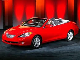 toyota convertible toyota camry solara review and photos