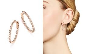 oval hoop earrings women s designer hoop earrings bloomingdale s