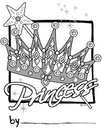 coloring page of crown kids drawing and coloring pages marisa