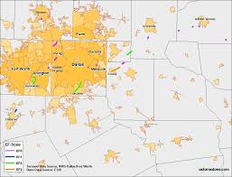 Dallas County Map by Dallas Tornado Map Archives U S Tornadoes
