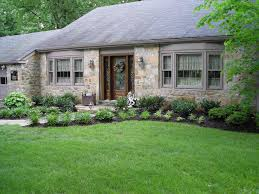 yard landscaping simple landscaping ideas for ranch style home