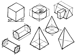 oblique sketches