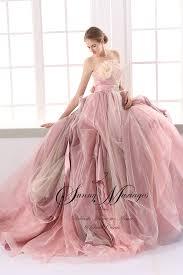 robe de mariã e en couleur robe de mariée princesse couleur poudré mariage