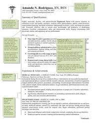 awesome collection of wound ostomy continence nurse sample resume