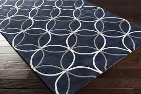 Viera Area Rug Navy And Grey Rug Roselawnlutheran