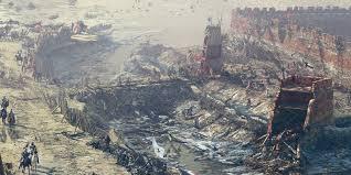 castle siege artstation the kaunas castle siege 1362 vilius petrauskas