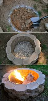 Easy Firepit How To Build A Back Yard Diy Pit It S Easy Firepit Yards And