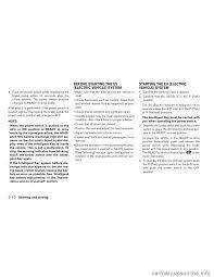 nissan leaf yellow warning light washer fluid nissan leaf 2013 1 g owners manual