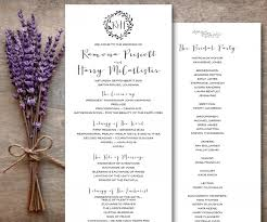 catholic wedding program catholic wedding program printable rustic wedding program brown
