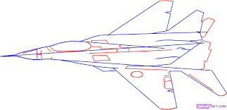how to draw a fighter jet step by step jets transportation