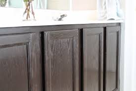 Refinishing Kitchen Cabinets With Gel Stain 38 Staining Bathroom Cabinets How To Stain Oak Cabinetry