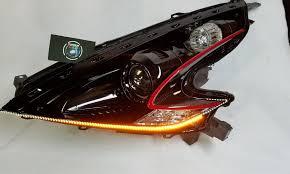 nissan 370z tail lights 370z custom headlights yunique l e d retrofits