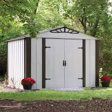 arrow 10 ft x 8 ft designer storage shed lowe u0027s canada