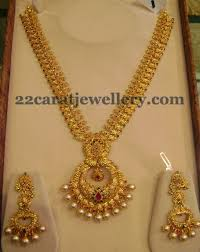 long chain necklace designs images Mango necklace with chandbali locket jewellery designs JPG