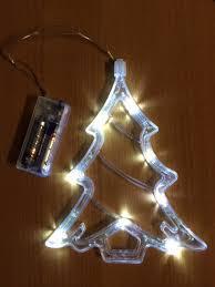 perfectholiday led battery operated tree window light