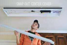 how to change a fluorescent light fixture how to replace fluorescent lighting with a pendant fixture young