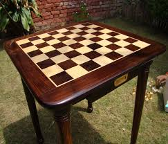 Chess Table And Chairs The Chess Empire