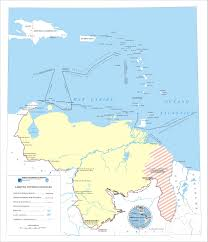 Map Of Venezuela Official Boundaries Of Venezuela Map Venezuela U2022 Mappery
