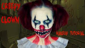 Halloween Makeup Clown by Creepy Clown Halloween Makeup Tutorial Youtube