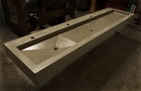 How To Make A Concrete Sink For Bathroom Gore Design Co Concrete Sinks Furniture And Architectural Elements
