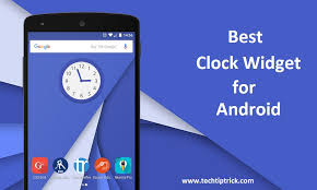 best clock widget for android the tech best clock widget for android 2017