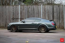 bentley continental rims bentley continental gt supersports struts its new shoes
