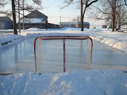 Backyard Hockey Rink Kit by Backyard Rink Backyard Hockey Rink Photo Bigstockphoto Backyard