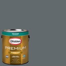 glidden premium 1 gal nba 105c phoenix suns gray semi gloss