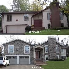 split level homes shocking split level style homes design build pros pic for before