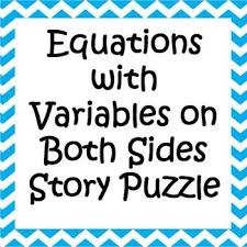 Multi Equations With Variables On Both Sides Worksheet 37 Best Lesson Resources Equations Images On