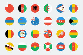 Korea Flag Icon 270 World Flags Icons Creative Market