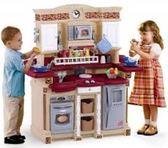Step Two Play Kitchen by 2 Kitchens For Kids