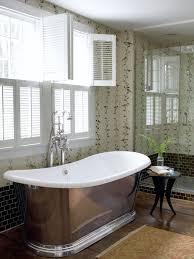 bathroom white mirror gray wall lamp white bathtubs natural