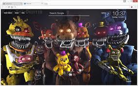 google wallpaper fnaf fnaf five nights at freddy s hd wallpapers chrome web store