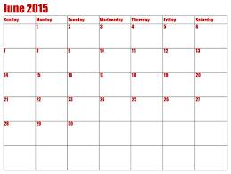 36 best june 2015 calendar images on pinterest printable