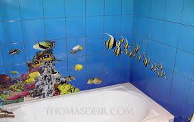 bathroom tile murals thomas deir honolulu hi artist bathroom renovation tile murals