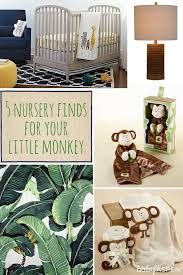 Monkey Rug For Nursery Cribspiration 5 Nursery Finds For Your Little Monkey Baby Aspen