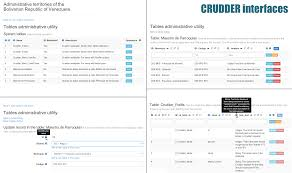 Bootstrap Table Example Crudder A Complete Crud Component Based On Codeigniter And Bootstrap