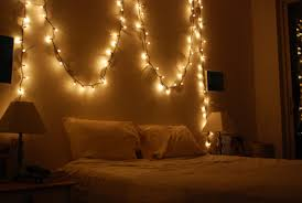 bedroom stunning christmas fairy lights in bedroom wall ideas