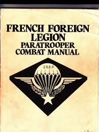 french foreign legion paratrooper combat manual french foreign