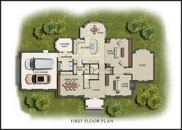 house site plan color 2d graphics floor plans