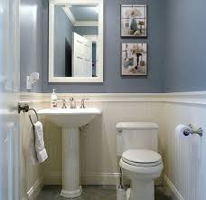 half bathroom decor ideas dunstable blue and white half bath small