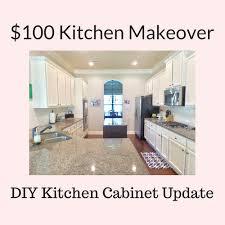 thrifty diy kitchen makeover the reveal brown dog vintage